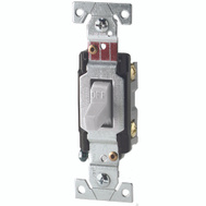 Cooper Wiring CS120W 20A Toggle Light Switch White