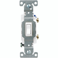 Cooper Wiring C1301-7LTW Lighted Single Pole Switch