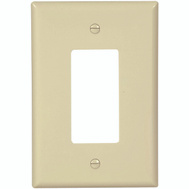Cooper Wiring 2751V-BOX Oversize Rocker Wall Plate 1 Gang Ivory