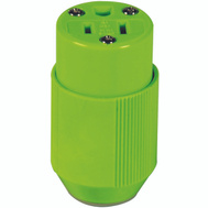 Cooper Wiring BP3487-4GN High Visibility Connector Fluorescent Green