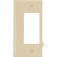 Cooper Wiring STE26V Snap Together Decor End Plate Ivory