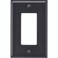 Cooper Wiring PJ26B 1 Gang Rocker GFCI Wall Plate Brown