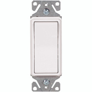 Cooper Wiring 7511W-BOX Single Pole Ac Quiet Switch White