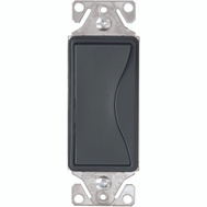 Cooper Wiring 9503SG Aspire 3 Way GFCI Rocker Switch Silver Granite