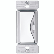 Cooper Wiring 9530WS Aspire Slide Dimmer White Satin