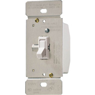 Cooper Wiring TI061-W-K Toggle Dimmer White