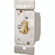 Cooper Wiring TI306-V-K 3 Way Toggle Dimmer With Ivory Switch