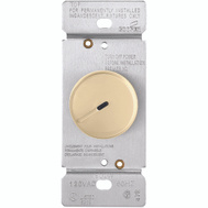 Cooper Wiring RI06PL-V-K Rotary Dimmer With Preset Ivory