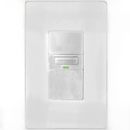 Cooper Wiring VS310U-W-K Savant Occupancy And Vacancy Motion Sensor Switch With LED Light White