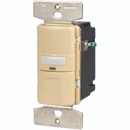 Cooper Wiring OS310U-V-K Savant Motion Sensor Occupancy Switch With Lighted Indicator Ivory