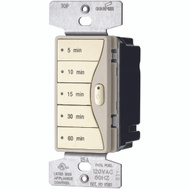 Cooper Wiring 9590DS Aspire Wall Switch Timer With Minute Presets Desert Sand