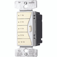 Cooper Wiring 9591DS Aspire Wall Switch Timer With Hourly Presets Desert Sand