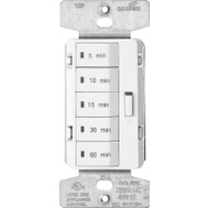 Cooper Wiring PT18M-W-K Accell Programmable Timer 120 Volt 15 Amp With Five Preset Time Intervals