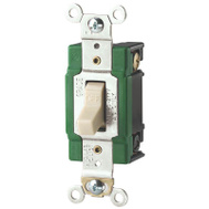 Cooper Wiring 3032V Super Spec 2 Pole 30 Amp Quiet Toggle Switch Ivory