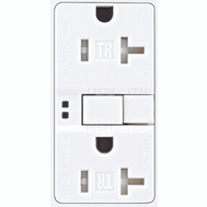 Cooper Wiring TRSGF20W Arrowhart 20 Amp GFCI Duplex Recepticle Tamper Resistant Self Test White