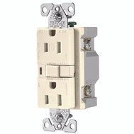 Cooper Wiring TRAFCI15LA-K Ground Fault Duplex Receptacle Tamper Resistant Light Almond