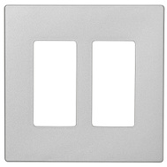 Cooper Wiring PJS262SG-SP-L Wallplate 2G Deco Mid Sg