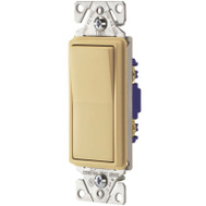 Cooper Wiring 7501V Decorative Rocker Switch Ivory