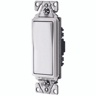 Cooper Wiring 7501W Decorative Rocker Switch White