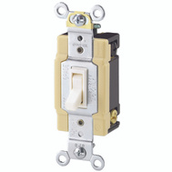 Cooper Wiring 1242-7V-BOX 4 Way Quiet Toggle Switch Ivory