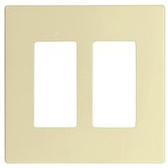 Cooper Wiring PJS262LA Wallplate Screwless Deco 2G