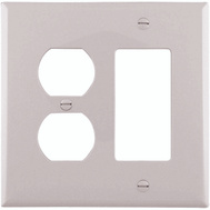 Cooper Wiring PJ826W 2 Gang Duplex And Decorative Plate White