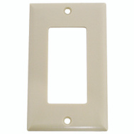 Cooper Wiring 2151V-BOX Decorator 1 Gang Wallplate Ivory