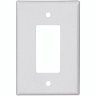 Cooper Wiring 2751W-BOX 1 Gang Decor Wall Plate White
