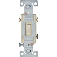 Cooper Wiring 1303-7V-BOX 3 Way Grounded Toggle Switch Ivory