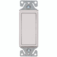 Cooper Wiring 7503W-BOX 3 Way Quiet Rocker Switch White