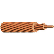 Southwire Coleman Cable 10665803 Stranded Bare Grounding Wire Copper 6 Gauge 315 Feet