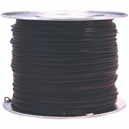 Coleman Cable 55667323 100 Foot Spool 18 Gauge Primary Wire Black