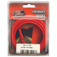 Coleman Cable 55672133/10-1-16 Wire Prim Red 7Ft Cd 10Ga
