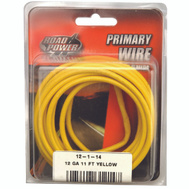 Coleman Cable 55671733/12-1-14 Wire Prim Yelw 11Ftcd 12Ga