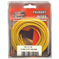 Coleman Cable 55670833/14-1-14 Wire Prim Yelw 17Ft Cd 14Ga