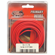 Coleman Cable 55669133/14-1-16 Wire Prim Red 17Ft Cd 14Ga