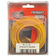 Coleman Cable 55668333/16-1-14 Wire Prim Yelw 24Ft Cd 16Ga