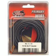 Coleman Cable 55667333/18-1-11 Wire Prim Blk 33Ft Cd 18Ga