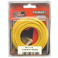Coleman Cable 55843833/18-1-14 Wire Prim Yelw 33ft Cd 18ga