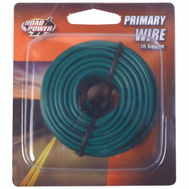 Coleman Cable 55835033/18-1-15 Wire Prim Grn 33Ft Cd 18Ga
