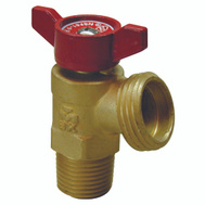 B&K Mueller 102-054HN Quarter Master 3/4 Inch Male Iron Pipe And Female Iron Pipe Boiler Drain