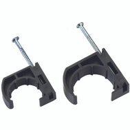 B&K Mueller P24-050HC Pipe Clamp Half Poly Cts 1/2 (Bag Of 10)