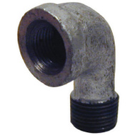B&K Mueller 510-300HC 1/8 Inch Galvanized 90 Degree Street Elbow