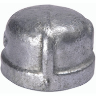 B&K Mueller 511-410BC Cap Malleable Galv 3In
