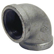 B&K Mueller 510-005HN 1 Inch Galvanized 90 Degree Elbow