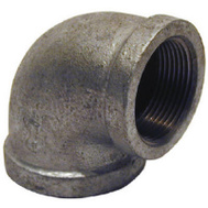 B&K Mueller 510-176HC 1-1/2 By 1-1/4 Inch Galvanized Reducing Elbow