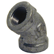 B&K Mueller 510-204HN 3/4 Inch Galvanized 45 Degree Elbow
