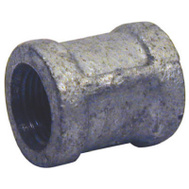 B&K Mueller 511-205HN 1 Inch Galvanized Coupling With Stop