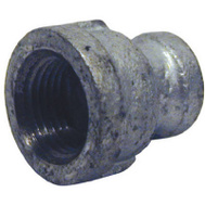 B&K Mueller 511-332HN 1/2 By 3/8 Inch Reducing Galvanized Coupling