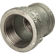 B&K Mueller 511-365HN 1-1/4 By 1 Inch Reducing Galvanized Coupling